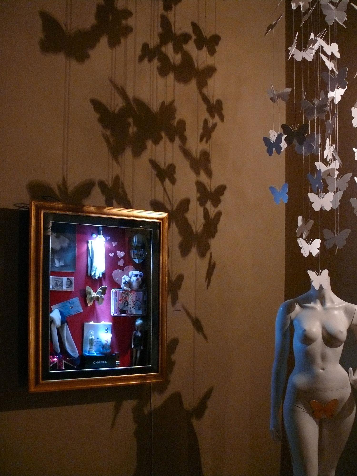 installazione-arte-farfalle-bologna-silla-guerrini